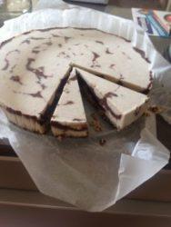 Veganistische cheesecake met kokos 22 cm € 24,50